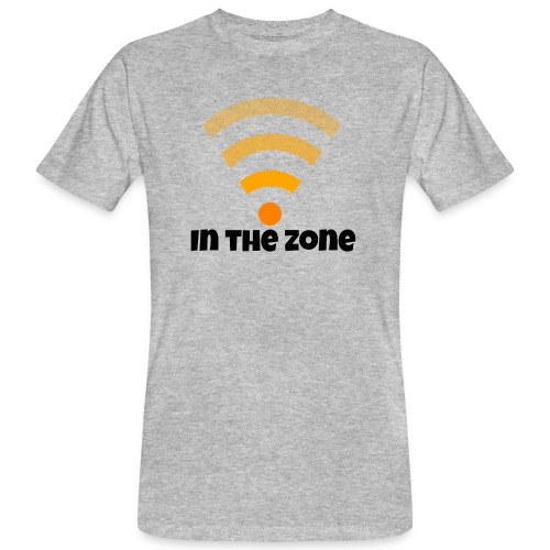 In the zone women - Mannen Bio-T-shirt