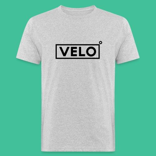 Velo Icon Blk - Long Sleeve Baseball Shirt W/N Clr - Men's Organic T-Shirt