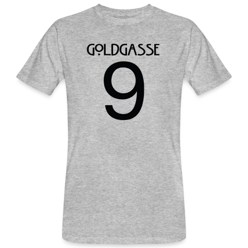 Goldgasse 9 - Back - Men's Organic T-Shirt