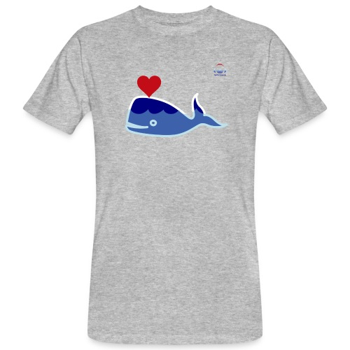 Wale of Love - Camiseta ecológica hombre