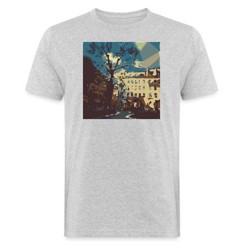 Abstrakt Budapest - Männer Bio-T-Shirt