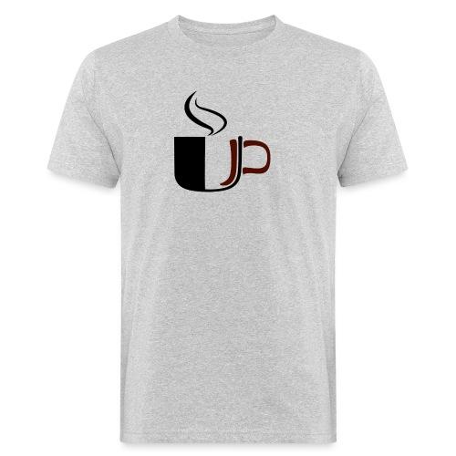 JU Kahvikuppi logo - Miesten luonnonmukainen t-paita
