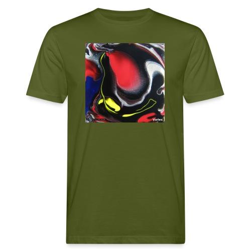 TIAN GREEN Mosaik DK007 - Vortex - Männer Bio-T-Shirt