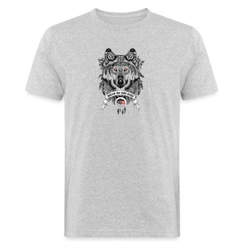 WOLF-PEDAELA - Camiseta ecológica hombre