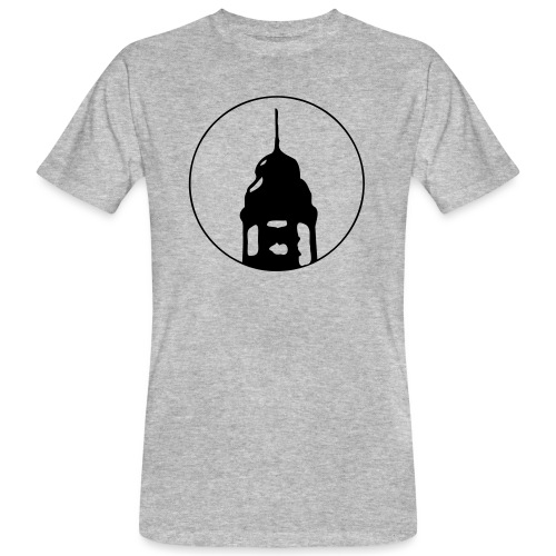 Neckarstadtblog Logo - Männer Bio-T-Shirt