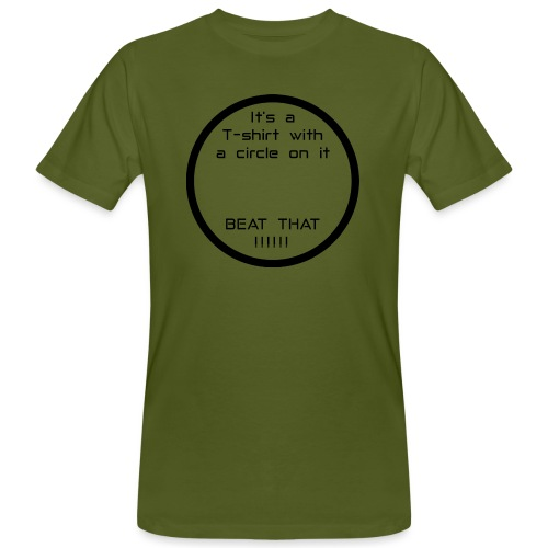 Circle - Men's Organic T-Shirt