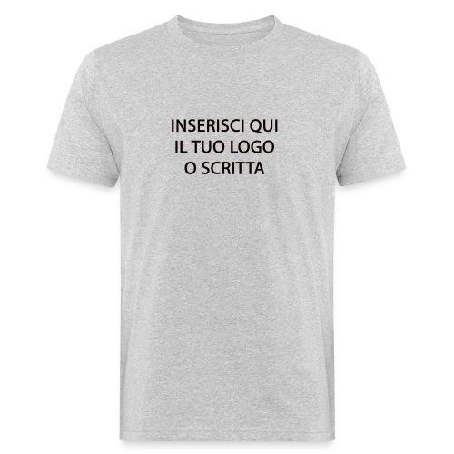 PERSONALIZZAZIONE - T-shirt ecologica da uomo
