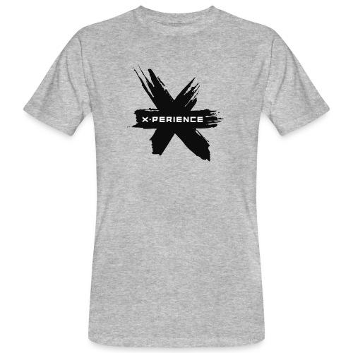 x-perience - Das neue Logo - Männer Bio-T-Shirt