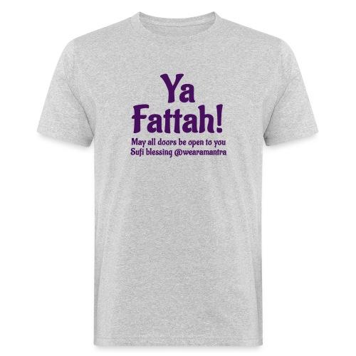 Ya Fattah purple - T-shirt ecologica da uomo