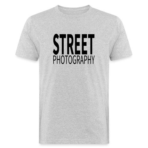 Street photography Black - T-shirt ecologica da uomo