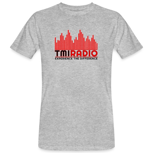 NEW TMI LOGO RED AND BLACK 2000 - Men's Organic T-Shirt