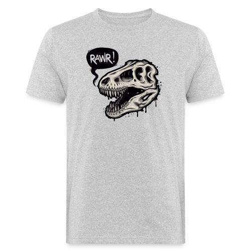 DINO RAWR 1 - Camiseta ecológica hombre