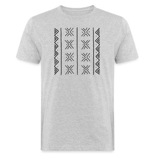 mudcloth-bogolan - T-shirt bio Homme