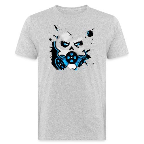 HZ GasHead Logo splash - Männer Bio-T-Shirt