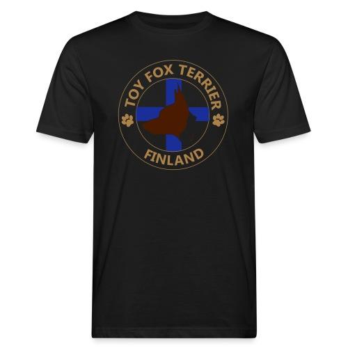 Toy Fox Terrier- Finland - Miesten luonnonmukainen t-paita