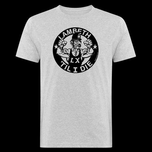 LAMBETH - BLACK - Men's Organic T-Shirt