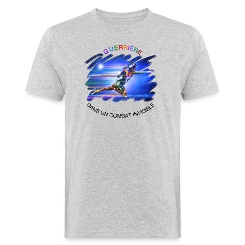 Guerrière dans un combat invisible - T-shirt bio Homme