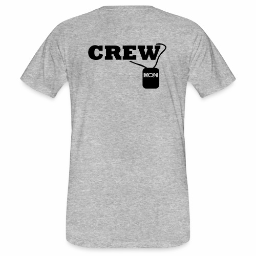 KON - Crew - Männer Bio-T-Shirt