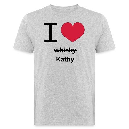 ilovekathy - Mannen Bio-T-shirt