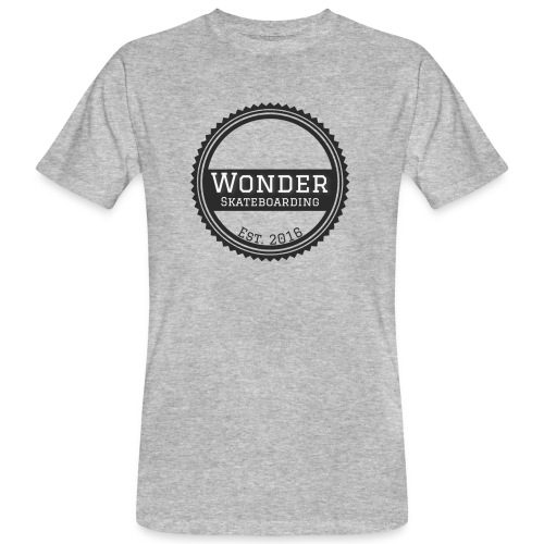 Wonder Longsleeve - round logo - Organic mænd