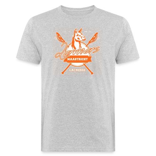 Llamas - Maastricht Lacrosse - Oranje - Mannen Bio-T-shirt