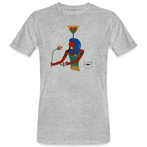 Nefertem I altägyptische Gottheit - Männer Bio-T-Shirt