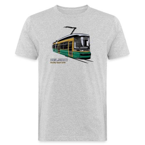 Helsingin Raitiovaunu T-paidat, 154 upeaa tuotetta - Miesten luonnonmukainen t-paita