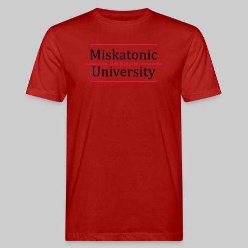 Miskatonic University - Männer Bio-T-Shirt