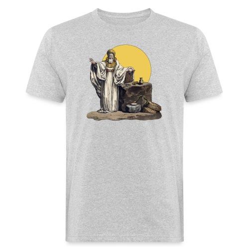 Druido (Sole Luna) - T-shirt ecologica da uomo