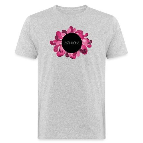 Naisten huppari punaisella logolla - Miesten luonnonmukainen t-paita