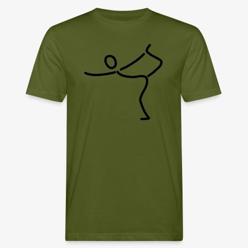 iYpsilon Einbeinstand - Männer Bio-T-Shirt
