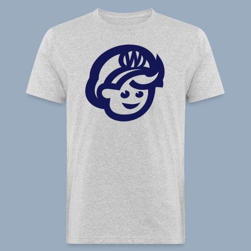 logo bb spreadshirt bb kopfonly - Männer Bio-T-Shirt