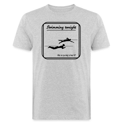 Swimming tonight - Miesten luonnonmukainen t-paita