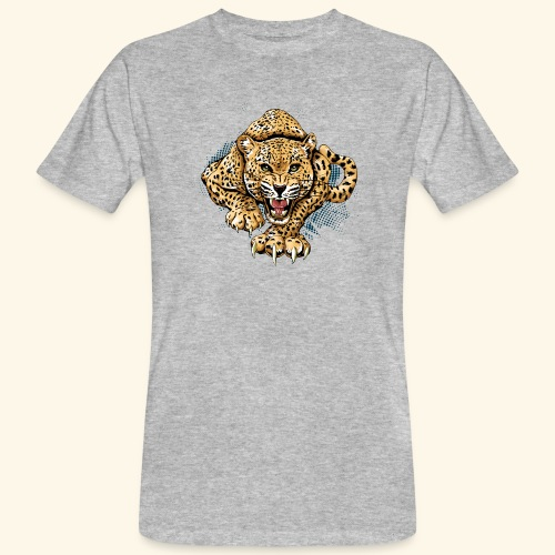 Leopardo KutuXa - Camiseta ecológica hombre