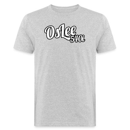 OsLeeLogoschattenGross - Männer Bio-T-Shirt