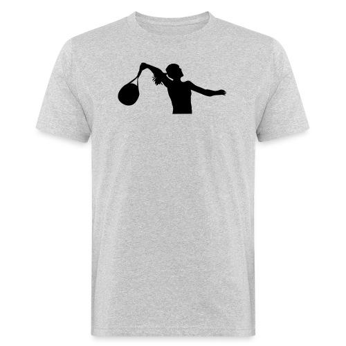 tennis silouhette 6 - T-shirt bio Homme