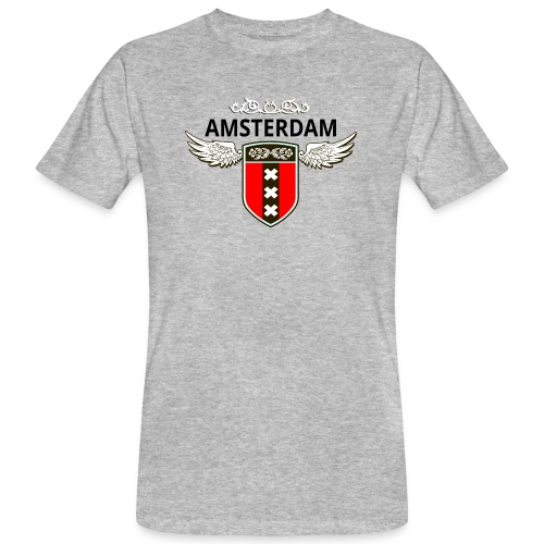 Amsterdam Netherlands - Männer Bio-T-Shirt