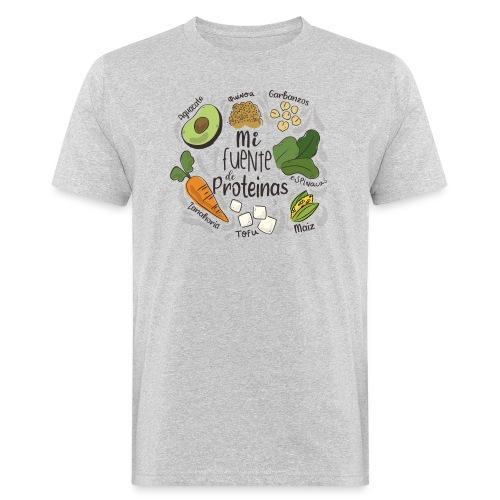 Mi fuente de proteinas - Camiseta ecológica hombre