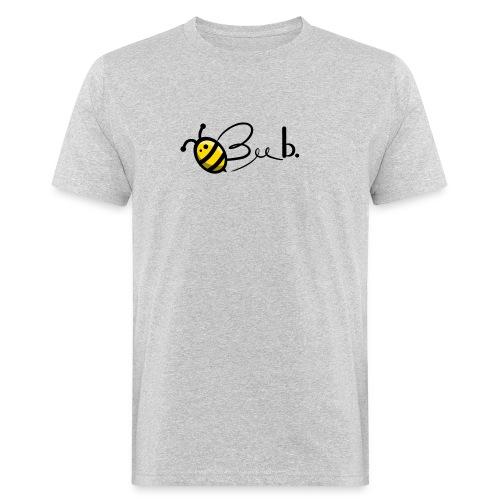 Bee b. Logo - Men's Organic T-Shirt