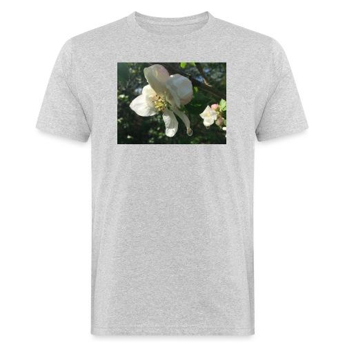 The Flower Shirt - Æble - Organic mænd