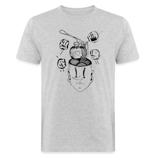 Spaghetti head - T-shirt ecologica da uomo