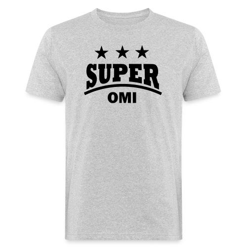 cool super omi raster - Mannen Bio-T-shirt