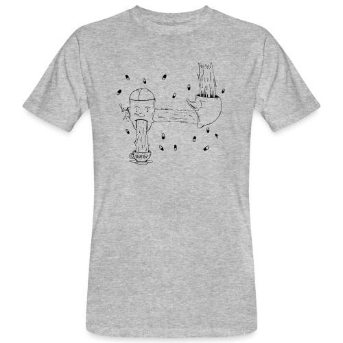 heads opinion - T-shirt ecologica da uomo