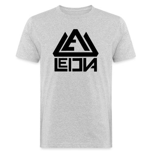 LEDUNA BLACK LOGO - Ekologisk T-shirt herr