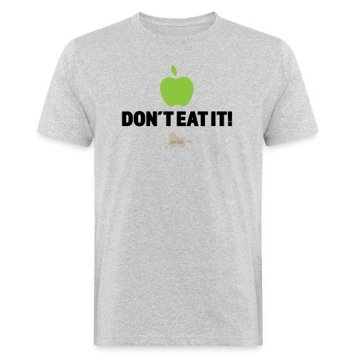 Apple don't eat it light fabric - Økologisk T-skjorte for menn