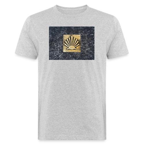 Scallop Shell Camino de Santiago - Men's Organic T-Shirt
