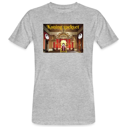 Koning Spekvet - Mannen Bio-T-shirt