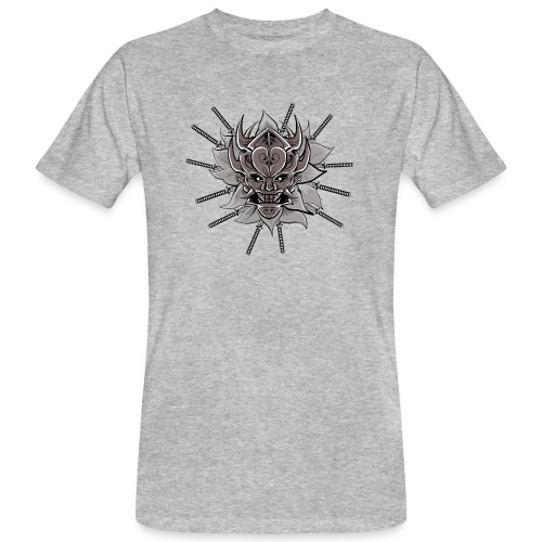 Lotus Of The Samurai - Mannen Bio-T-shirt