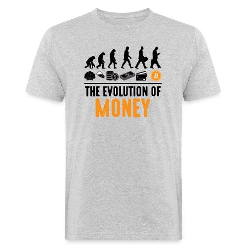 The Evolution of Money - Elon Musk - Camiseta ecológica hombre
