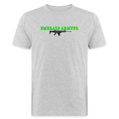 EMERALDARMYNL LETTERS! - Mannen Bio-T-shirt